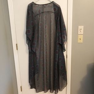 Band of Gypsies Long Duster/Kimono